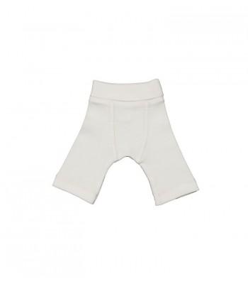 Pantaloni bianchi per prematuro