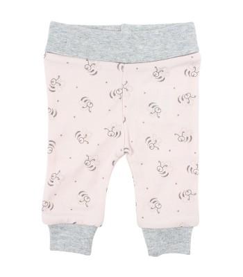 Pantaloni rosa Api per prematuro (Fronte)