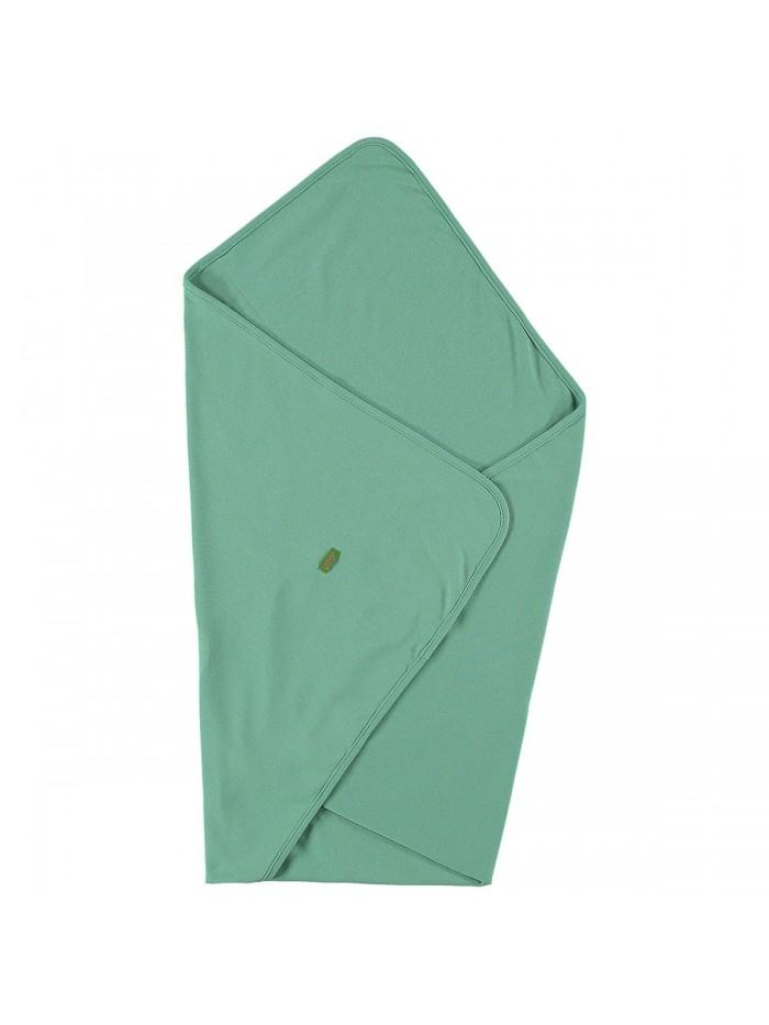 Copertina verde muschio in cotone bio