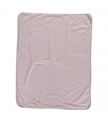 Copertina a righe rosa
