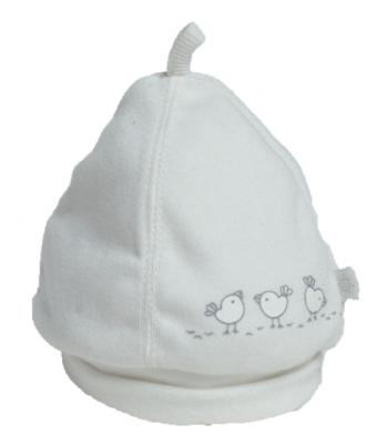 Cappellino Birds bianco per prematuro