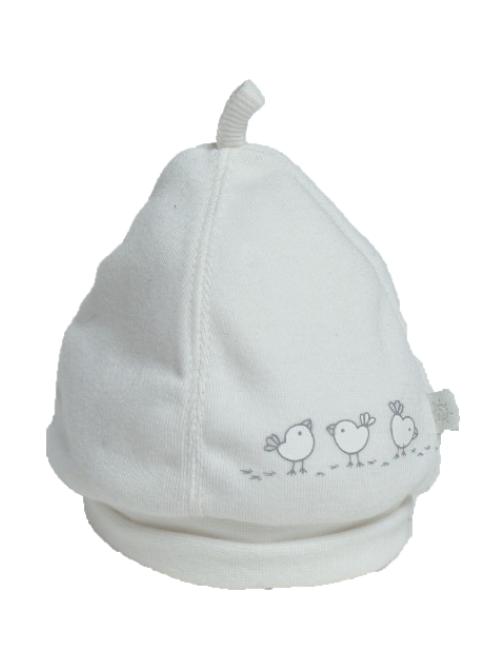 Cappellino bianco Birds