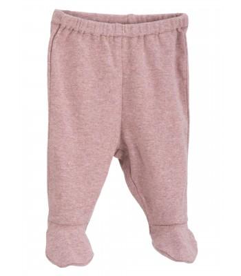 Pantaloni per prematuri con piedini in cotone bio. Spedizione Gratis!