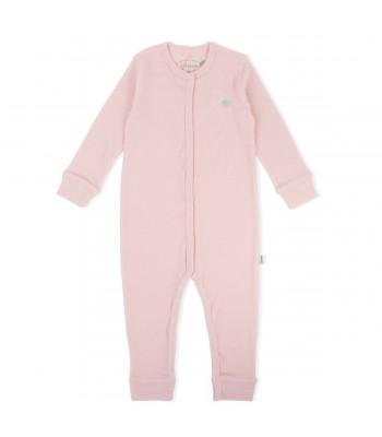 Tutina in lana merino rosa per prematura