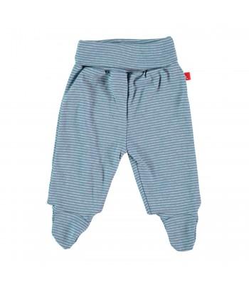Pantaloni con piedini in cotone bio per prematuri. Spedizione Gratis!
