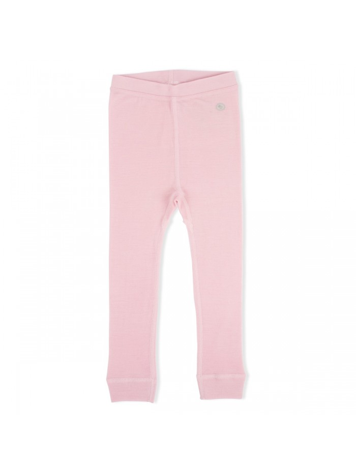 Pantaloni in lana merino rosa per prematuro