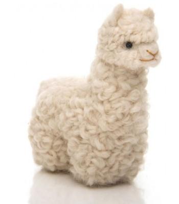 Pupazzetto Baby Alpaca bianco