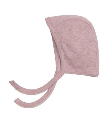 Cappellino con laccetto rosa cipria per prematura