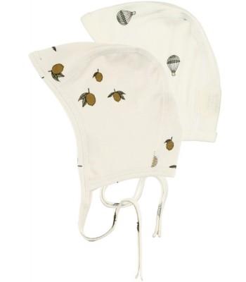 Set 2 cappellini con laccetto per prematuro Konges-Sloejd