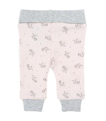 Pantaloni rosa Api per prematuro (Retro)