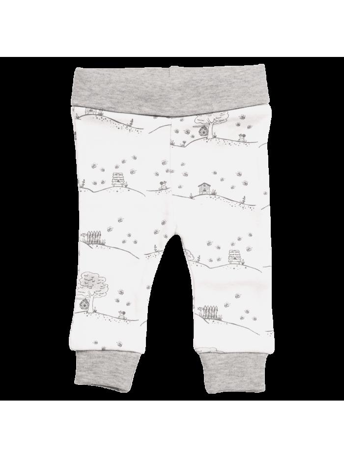 Pantaloni Natur bianco per prematuro