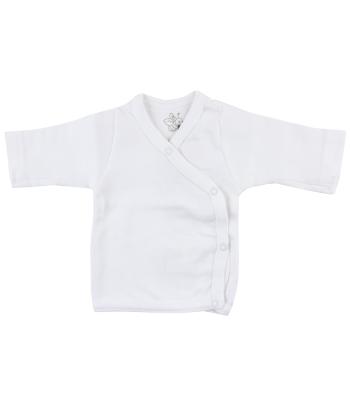 Maglietta kimono bianca per prematuro