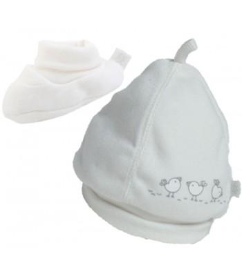 Set Cappellino e Babbucce per prematuro