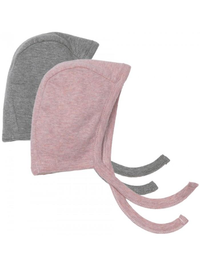 Set 2 cappellini con laccetto per prematuro