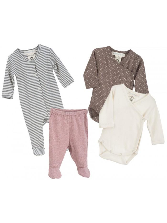 Set tutina, body e pantaloni per prematuro