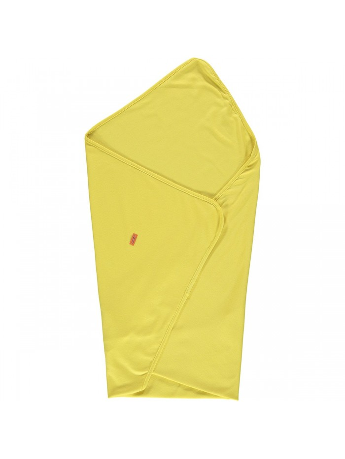Copertina giallo mostarda in cotone