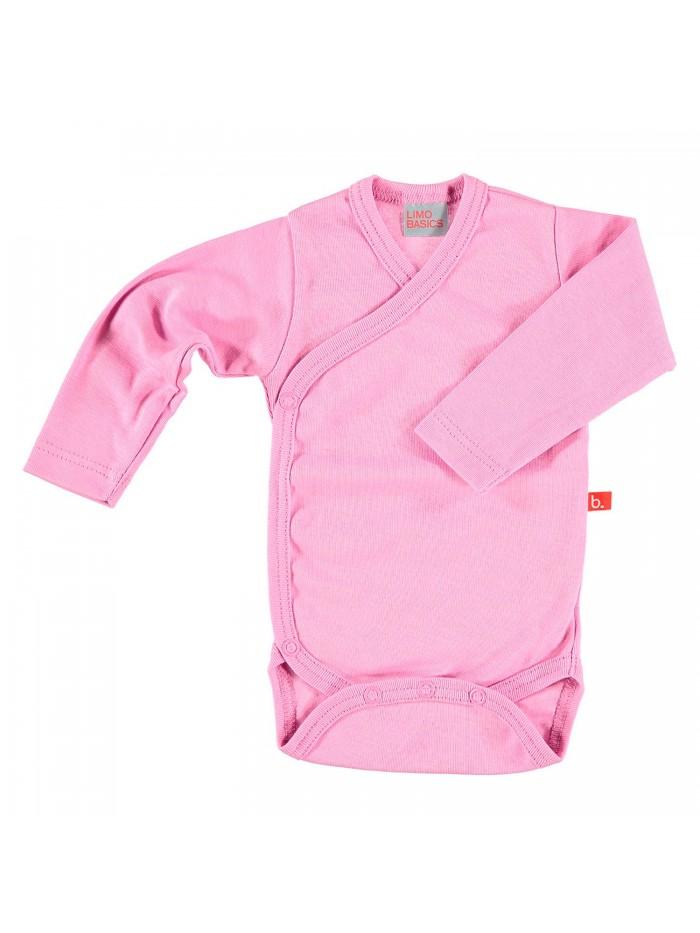 Body maniche lunghe rosa vintage per prematura