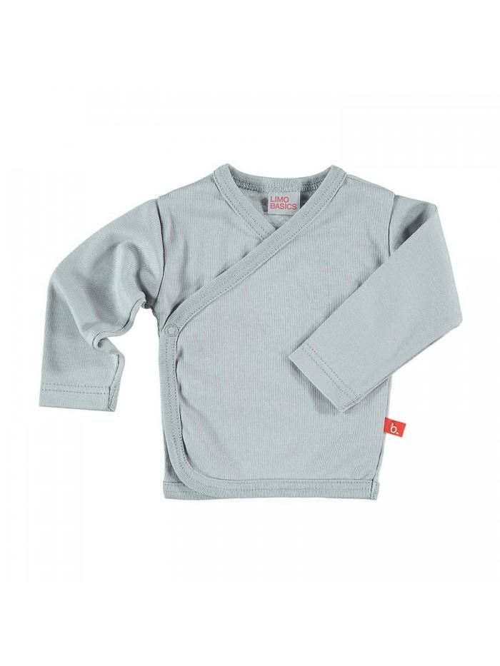 Maglietta kimono grigio per prematuro