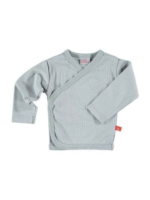 Maglietta kimono grigio