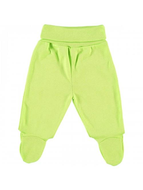 Pantaloni con piedini lime