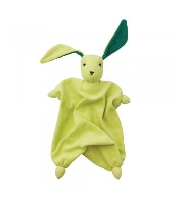 Doudou Peppa Tino verde lime/verde scuro