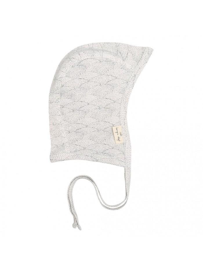 Cappellino panna Conchiglie per prematuro