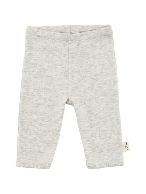 Pantaloni grigio chiaro melange