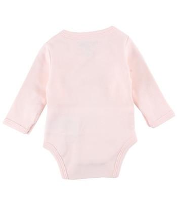 Body maniche lunghe rosa per prematuro (Retro)