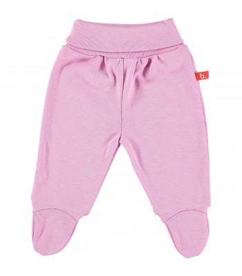 Pantaloni con piedini rosa vintage