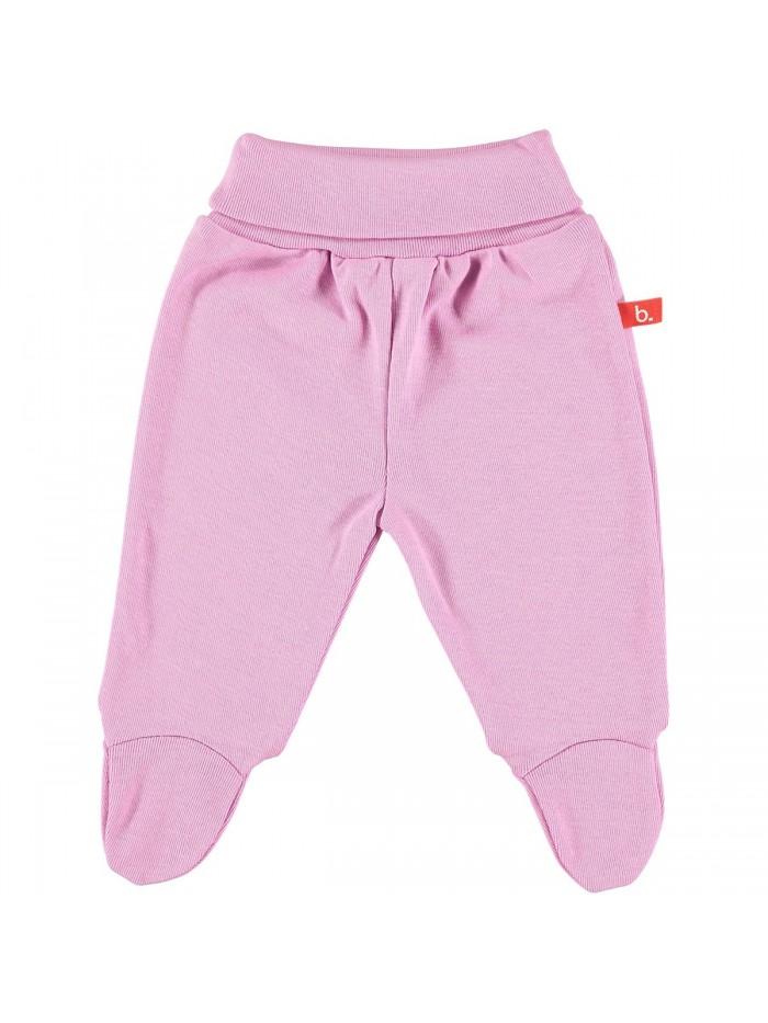 Pantaloni con piedini rosa vintage per prematura