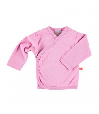 Maglietta kimono rosa vintage per prematura