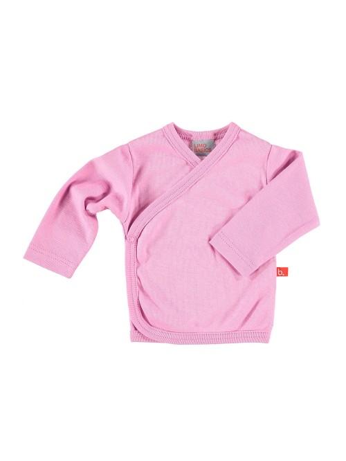 Maglietta kimono rosa vintage