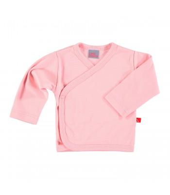 Maglietta kimono rosa pastello per prematura