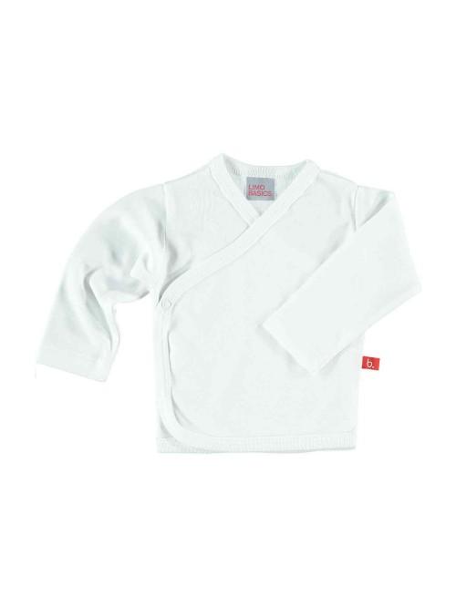 Maglietta kimono bianca