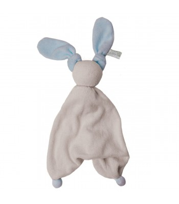 Doudou Hoppa Floppy grigio argento/blu