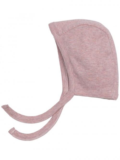 Cappellino rosa cipria