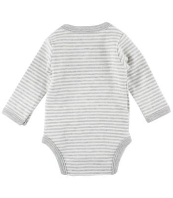 Body in cotone bio per bebè prematuri, molto piccoli o gemelli