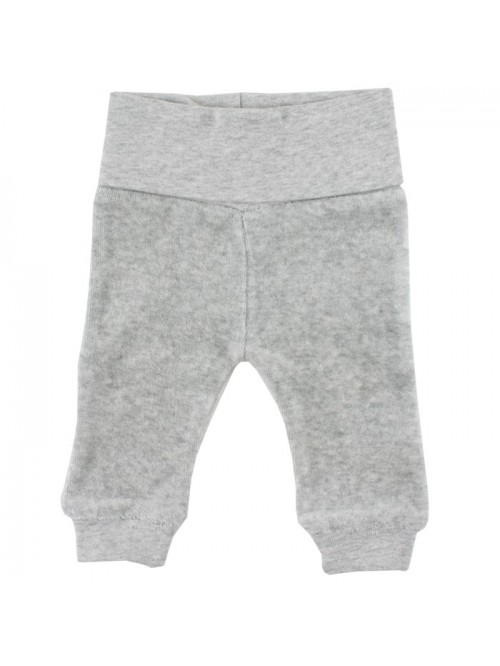 Pantaloni in velluto grigio